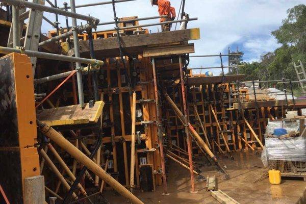 Lend Lease C2CA3 Cooroy To Curra GA6 Formwork